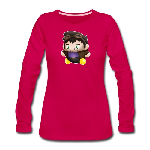 Poet Bumpkin png - Women's Premium Long Sleeve T-Shirt