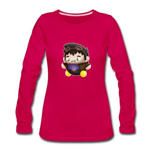 Poet Bumpkin png - Women's Premium Slim Fit Long Sleeve T-Shirt