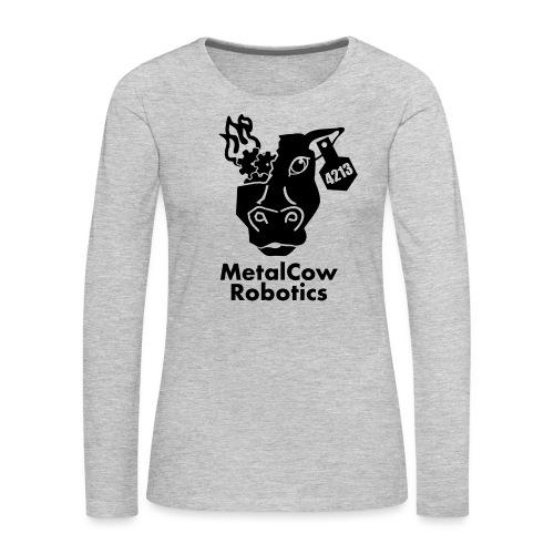 MetalCow Solid - Women's Premium Long Sleeve T-Shirt