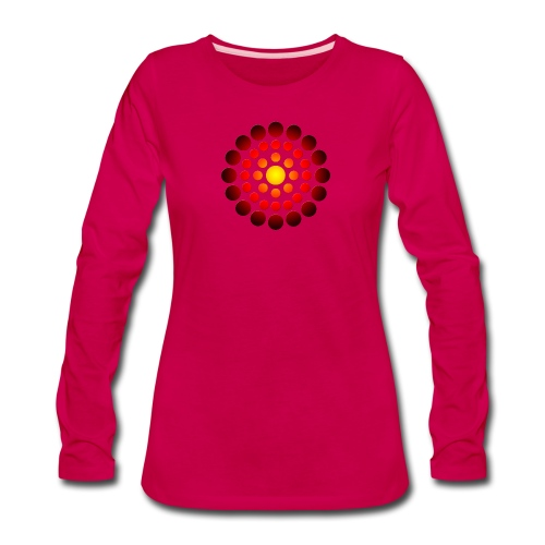 campfire symbol - Women's Premium Long Sleeve T-Shirt