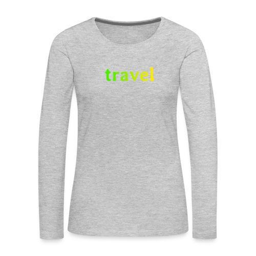 travel - Women's Premium Long Sleeve T-Shirt