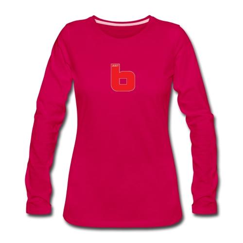 just b - Women's Premium Slim Fit Long Sleeve T-Shirt