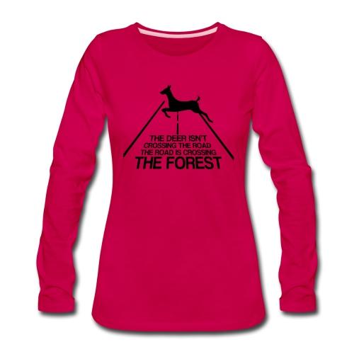 Deer's forest - Women's Premium Long Sleeve T-Shirt