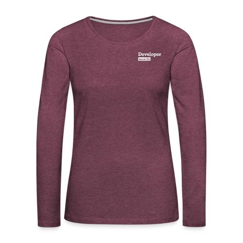Developer - Women's Premium Slim Fit Long Sleeve T-Shirt