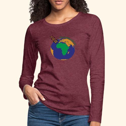 The CG137 logo - Women's Premium Slim Fit Long Sleeve T-Shirt