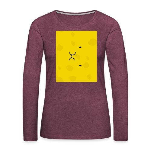 Spongy Case 5x4 - Women's Premium Slim Fit Long Sleeve T-Shirt