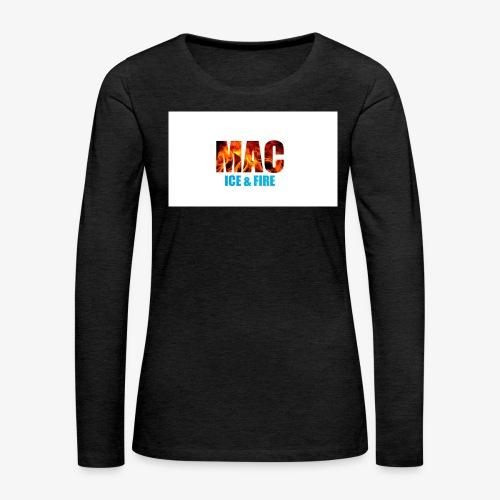 ICE FIRE - Women's Premium Long Sleeve T-Shirt