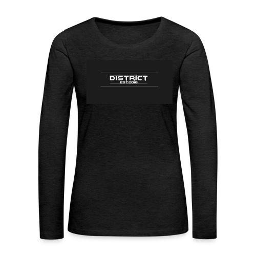 District apparel - Women's Premium Long Sleeve T-Shirt