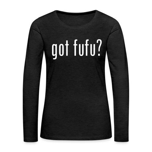 got fufu Women Tie Dye Tee - Pink / White - Women's Premium Slim Fit Long Sleeve T-Shirt