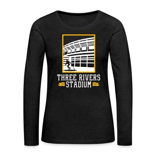 Three Rivers - Women's Premium Slim Fit Long Sleeve T-Shirt