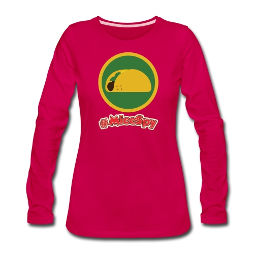 Cocina Cucamonga Explorer Badge - Women's Premium Long Sleeve T-Shirt