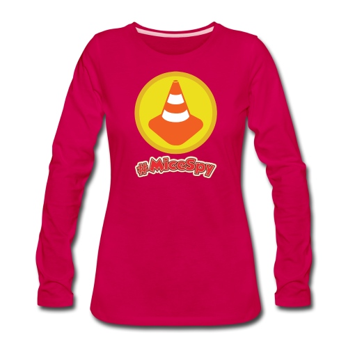 Cozy Cones Explorer Badge - Women's Premium Long Sleeve T-Shirt