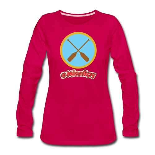 Davey Crockett Canoes Explorer Badge - Women's Premium Long Sleeve T-Shirt