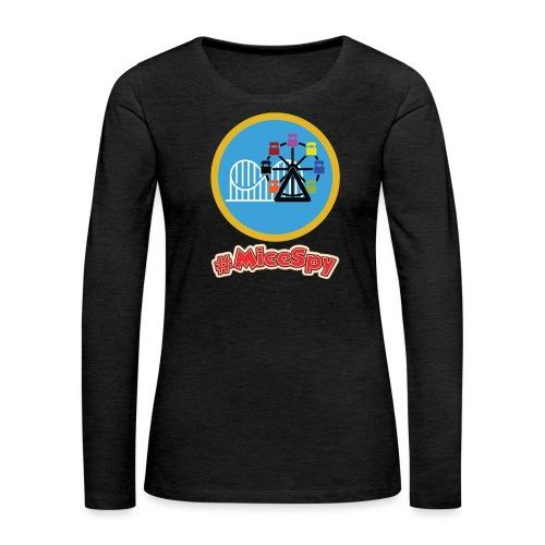 Paradise Pier Explorer Badge - Women's Premium Long Sleeve T-Shirt