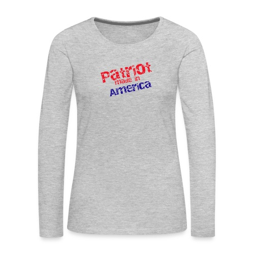 Patriot mug - Women's Premium Long Sleeve T-Shirt