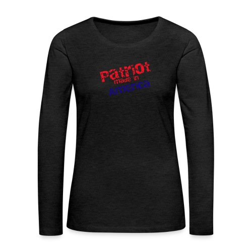Patriot mug - Women's Premium Long Sleeve T-Shirt