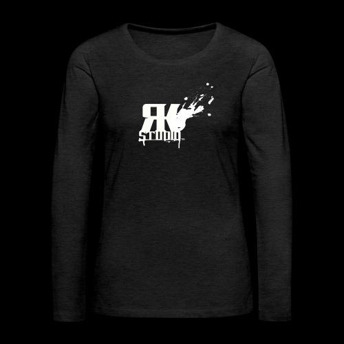 RKStudio White Logo Version - Women's Premium Long Sleeve T-Shirt