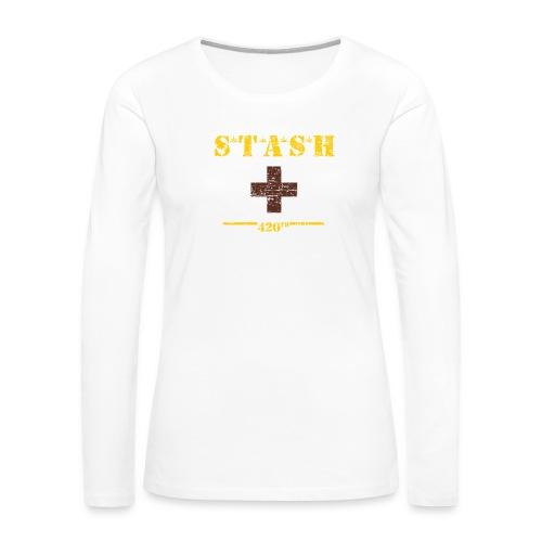 STASH-Final - Women's Premium Long Sleeve T-Shirt