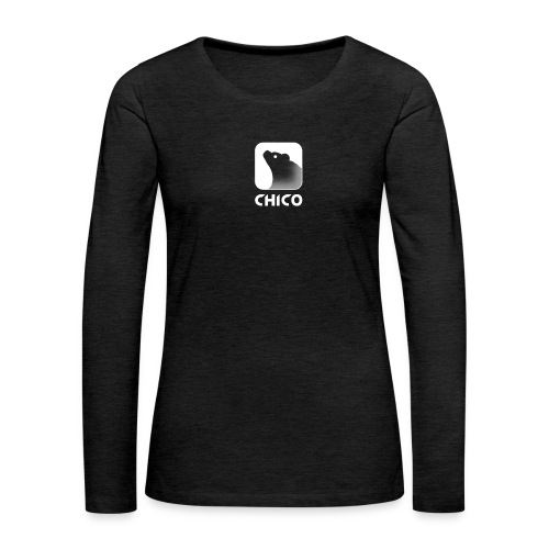 Chico's Logo with Name - Women's Premium Long Sleeve T-Shirt