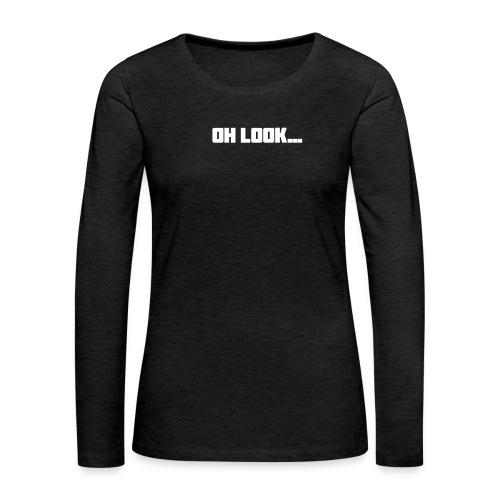 Jim Is Wrong - Women's Premium Slim Fit Long Sleeve T-Shirt