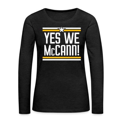 YesWeMc - Women's Premium Slim Fit Long Sleeve T-Shirt