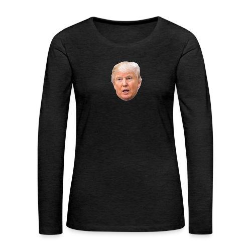 I will build a wall - Women's Premium Long Sleeve T-Shirt