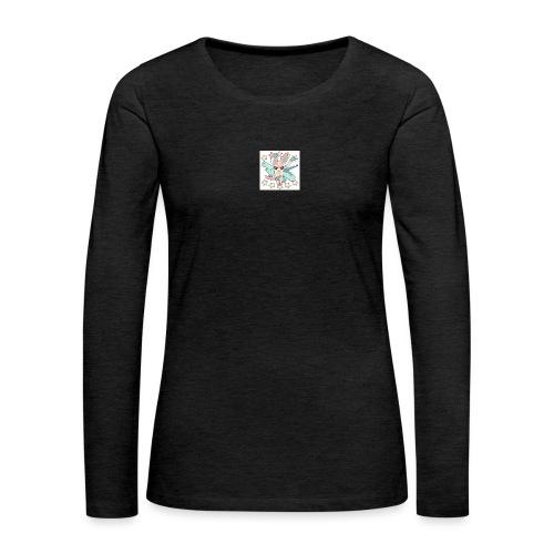 lit - Women's Premium Slim Fit Long Sleeve T-Shirt