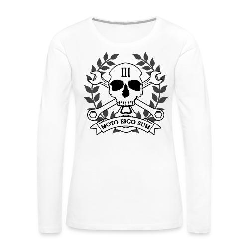 Moto Ergo Sum - Women's Premium Long Sleeve T-Shirt