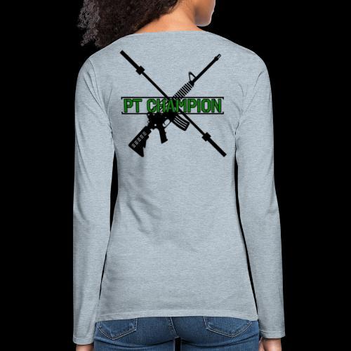 PT CHAMP - Women's Premium Slim Fit Long Sleeve T-Shirt