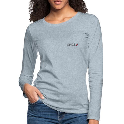 SPICY PEPPER - Women's Premium Slim Fit Long Sleeve T-Shirt