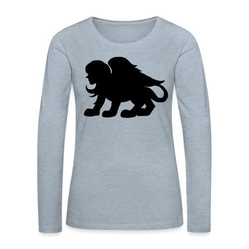 poloshirt - Women's Premium Slim Fit Long Sleeve T-Shirt