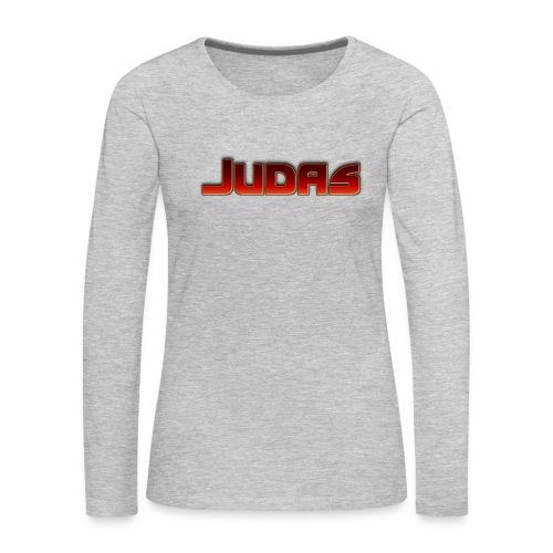 Judas - Women's Premium Slim Fit Long Sleeve T-Shirt