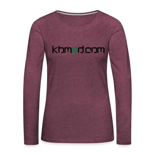 kbmoddotcom - Women's Premium Long Sleeve T-Shirt