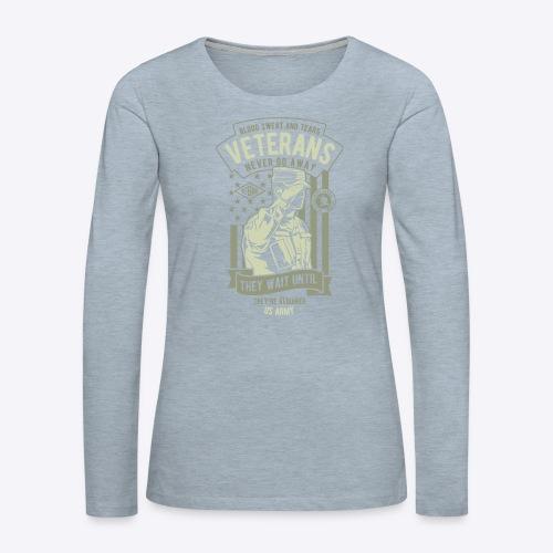 US Army Veterans - Women's Premium Long Sleeve T-Shirt