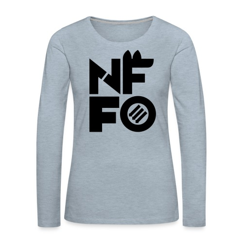 NFFO - Women's Premium Slim Fit Long Sleeve T-Shirt