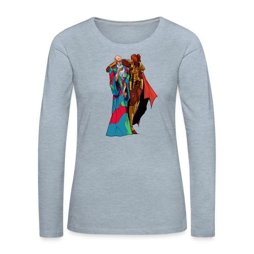 anjelicaPRO png - Women's Premium Long Sleeve T-Shirt