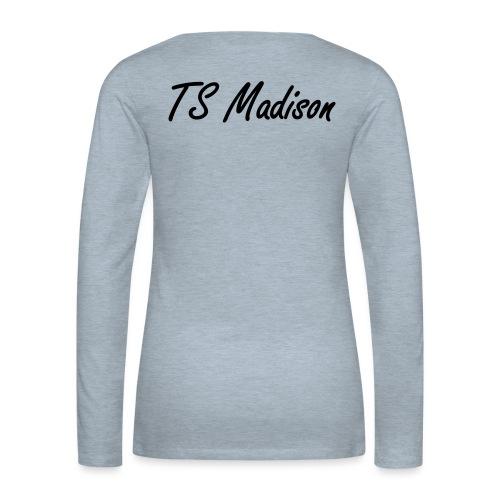 new Idea 12724836 - Women's Premium Slim Fit Long Sleeve T-Shirt