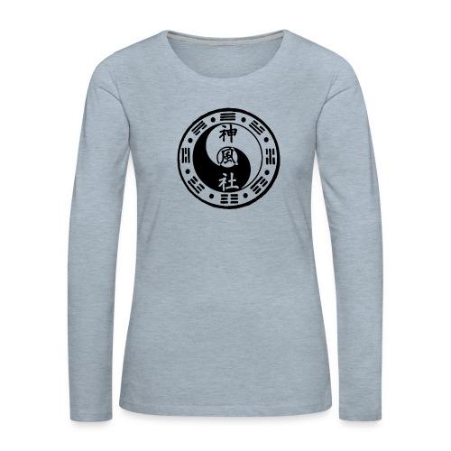 SWC LOGO BLACK - Women's Premium Long Sleeve T-Shirt