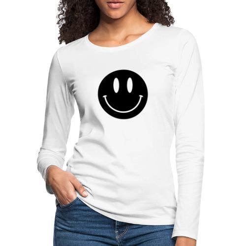 Smiley - Women's Premium Long Sleeve T-Shirt