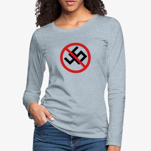 NO45 - Women's Premium Slim Fit Long Sleeve T-Shirt