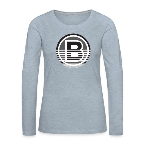 Backloggery/How to Beat - Women's Premium Slim Fit Long Sleeve T-Shirt
