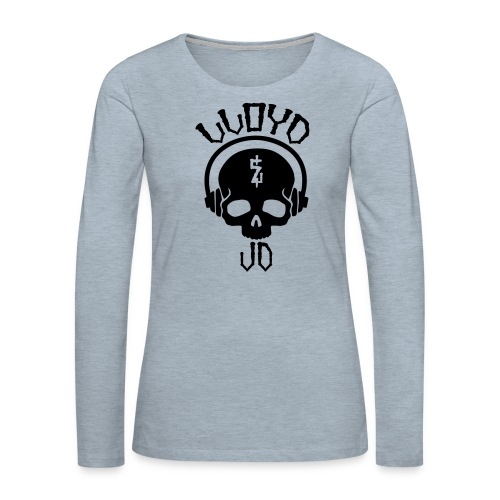 Lloyd JD Logo - Women's Premium Long Sleeve T-Shirt