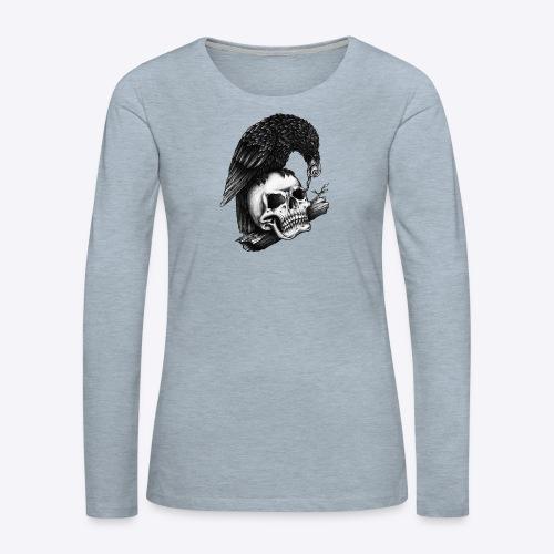 Skull Crow - Women's Premium Long Sleeve T-Shirt
