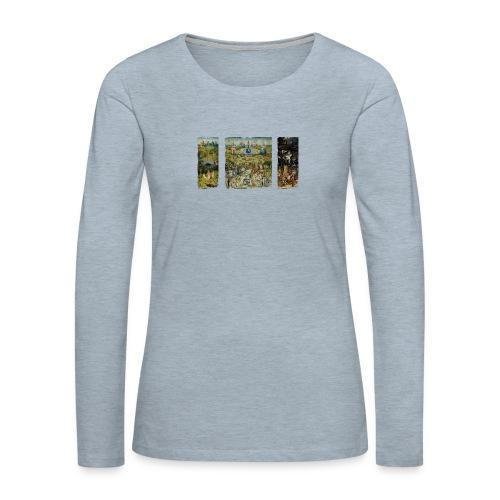 Garden Of Earthly Delights - Women's Premium Long Sleeve T-Shirt