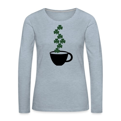 irishcoffee - Women's Premium Slim Fit Long Sleeve T-Shirt