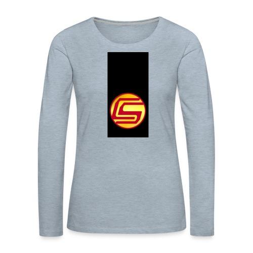 siphone5 - Women's Premium Slim Fit Long Sleeve T-Shirt