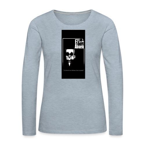 case5iphone5 - Women's Premium Slim Fit Long Sleeve T-Shirt