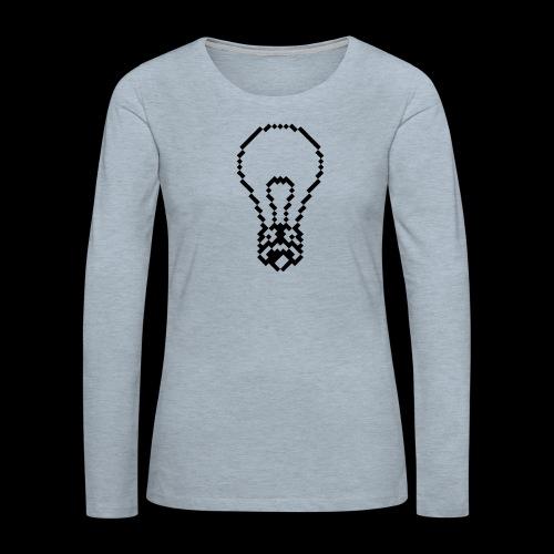 lightbulb - Women's Premium Long Sleeve T-Shirt