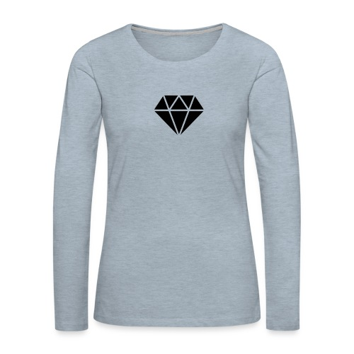 icon 62729 512 - Women's Premium Long Sleeve T-Shirt