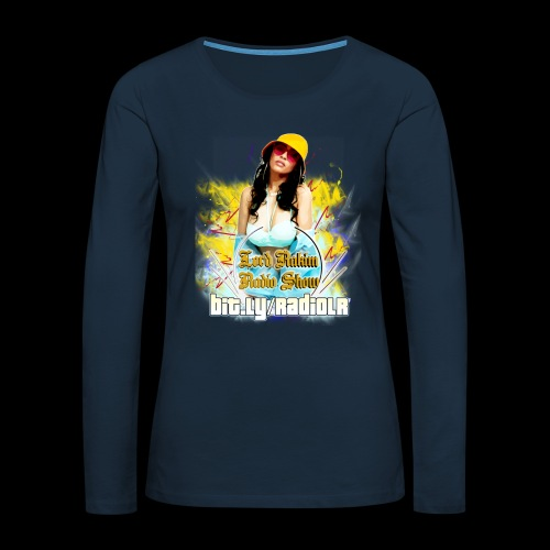 Lord Rakim Radio - Fly B-Girl - Women's Premium Slim Fit Long Sleeve T-Shirt